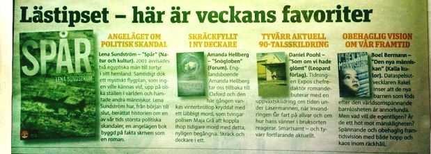Metro Lästipset Här är veckans favoriter Den nya människan (banner)